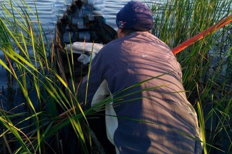 На понад тисячу гривень оштрафували волинянина, який рибалив в останній день нересту