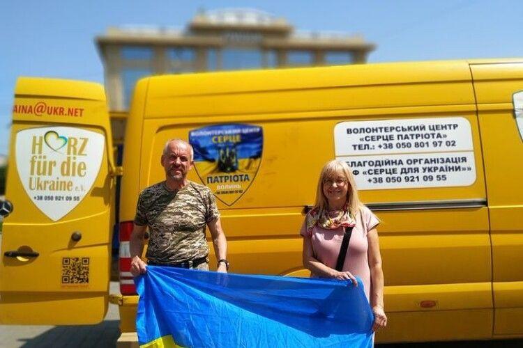 У Луцьку волонтери збирають допомогу військовослужбовцям