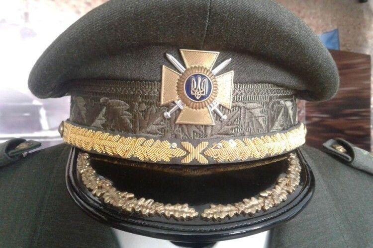 У волинський музей передали генеральський мундир