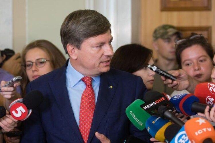 Герасимов: вимагаємо терміново зібрати Раду, щоб збільшити субсидії