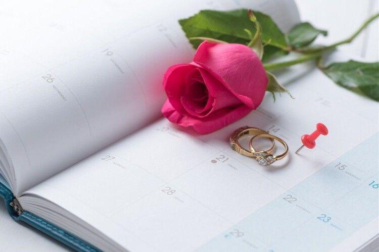 На Волині у першому півріччі одружилося 1765 пар
