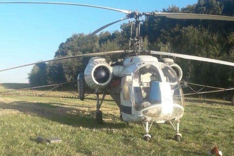 Поліція вилучила… гелікоптер