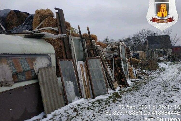На Волині оштрафують жителя Жабки, який влаштував свинство на вулиці Вишневій (Фото)