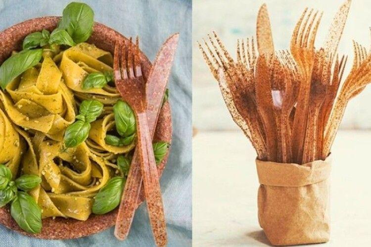 Органічний посуд із висівок почали продавати в Україні