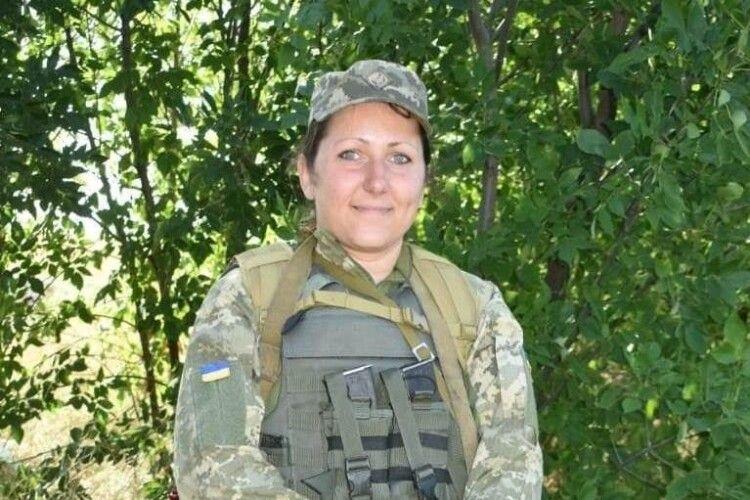 Дружина загиблого бійця з Маневиччини пішла в десантні війська
