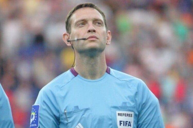 Арановський розсудить вирішальний матч за місце в єврокубках у Греції