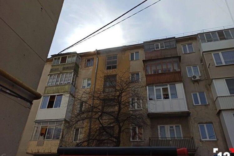 У багатоповерховому будинку в Луцьку – знову пожежа