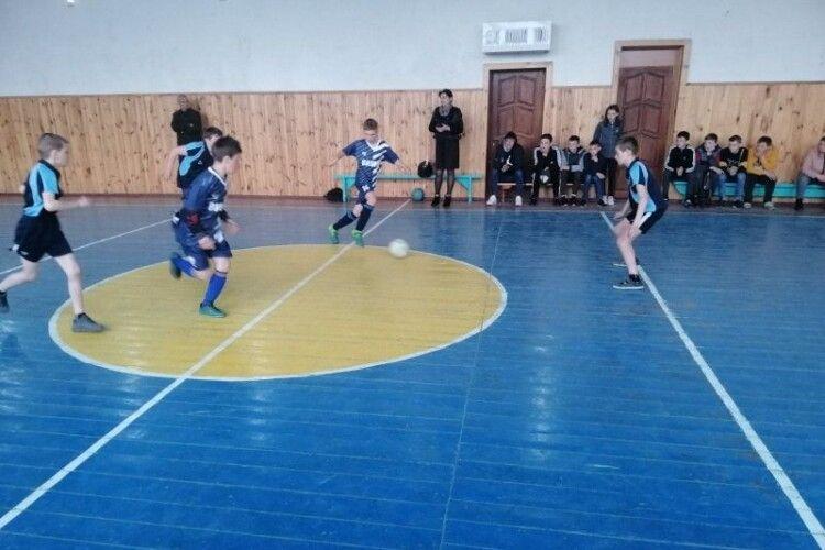На Любомльщині відбулися змагання з міні-футболу