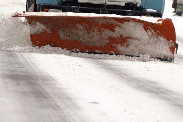 Які дороги Волині найбільше замело снігом