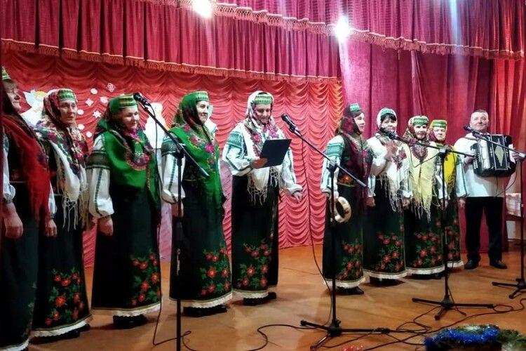 На Ратнівщині відбувся вечір колядок (Фото. Відео)
