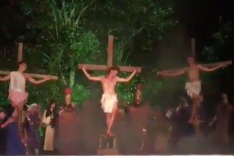 Аби «врятувати Ісуса», мало не вбив актора (Відео)