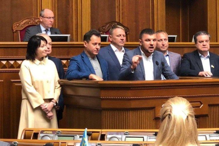 Ігор Гузь та Ірина Констанкевич вимагали в парламенті призначення виборів у місті Луцьку