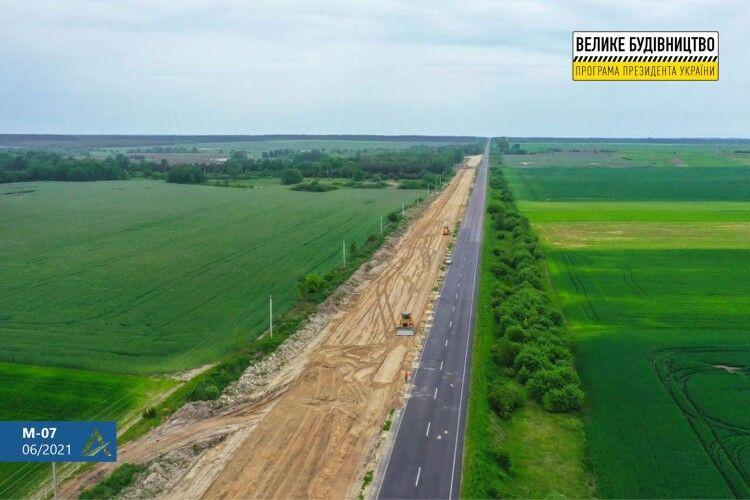Траса в напрямку Ковеля матиме чотири смуги руху