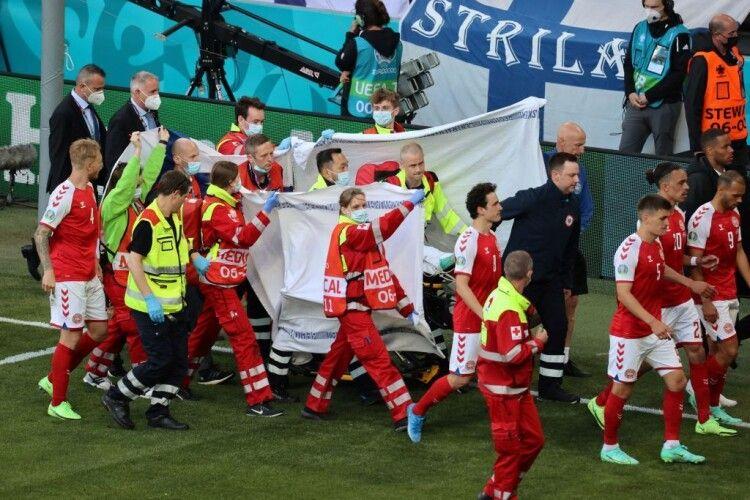 Данія та Фінляндія таки дограли один із найдраматичніших матчів в історії чемпіонатів Європи