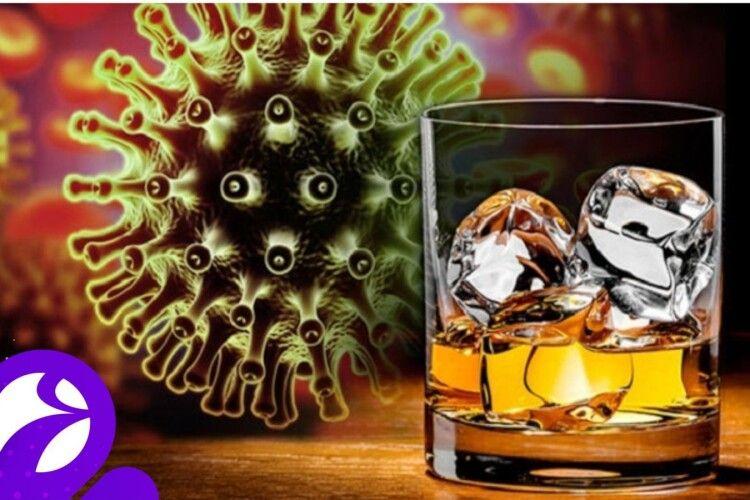Чи можна вживати алкоголь при COVID-19, ГРВІ та грипі?