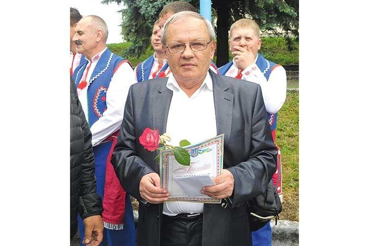 Вітання: у редактора районної газети «Горохівський вісник» Олега Дідика - ювілей!
