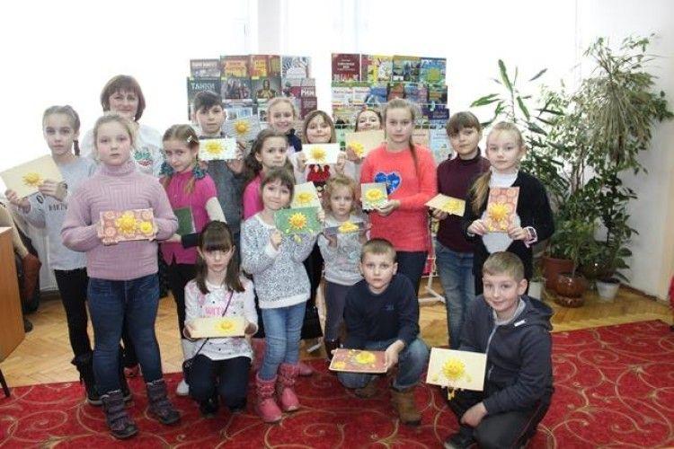 У бібліотеці діти «Масляну святкували, люту зиму проводжали»