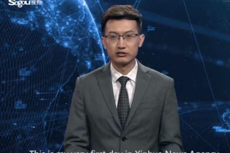 Систему зі штучним інтелектом навчили вести новини (Відео)