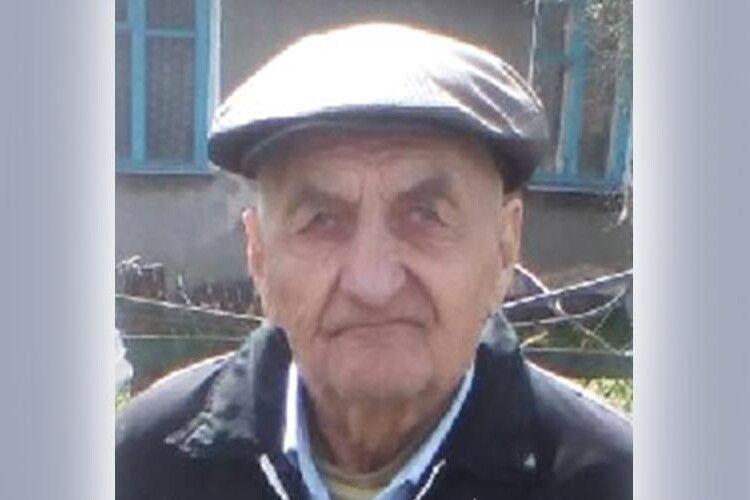 На Волині поліція розшукує безвісти зниклого 83-річного пенсіонера