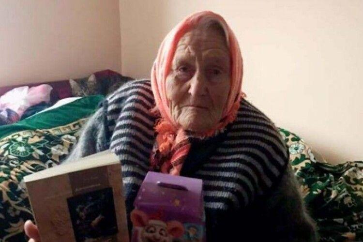 89-річна бабуся зі Львівщини прочитала за минулий рік 232 книги