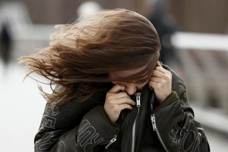 Волинян попереджають про сильний вітер та заморозки