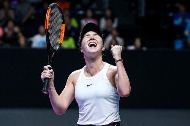 Світоліна перемогла американку на підсумковому турнірі WTA