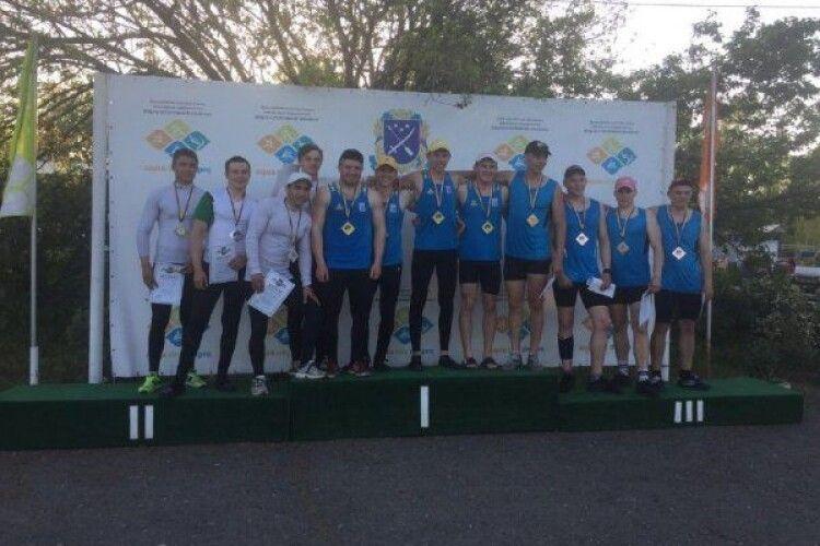 29 медалей завоювали ковельські веслувальники на чемпіонаті України