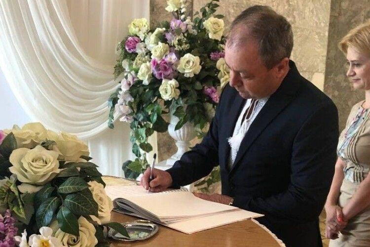 На Волині зареєстрували четвертий цьогоріч повторний шлюб (Фото)