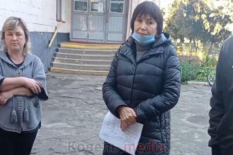 Батьки навчального закладу на Волині протестували проти дистанційки