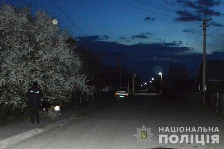 У селі на Волині мотоцикліст збив 2-річну дівчинку (Фото)