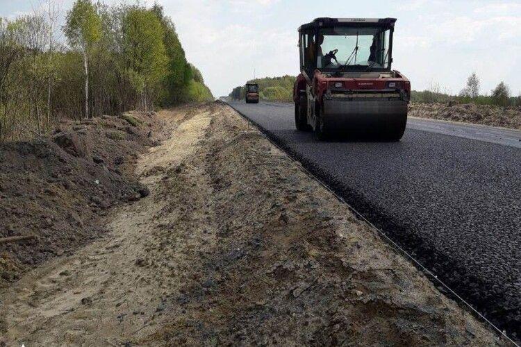 Продовжується ремонт траси Ковель–Ягодин (Фото)