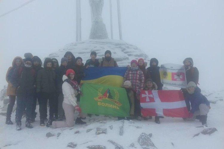 Юні туристи Волині стали учасниками обласної експедиції «Пізнай свою країну»