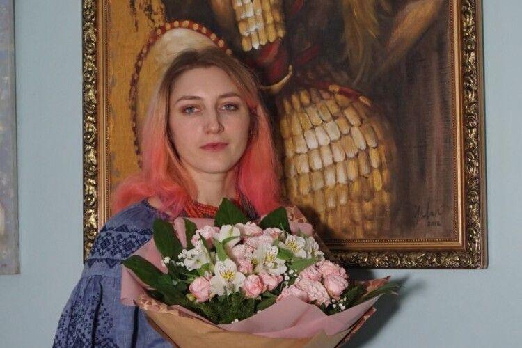 У Луцьку відкрили виставку юної художниці