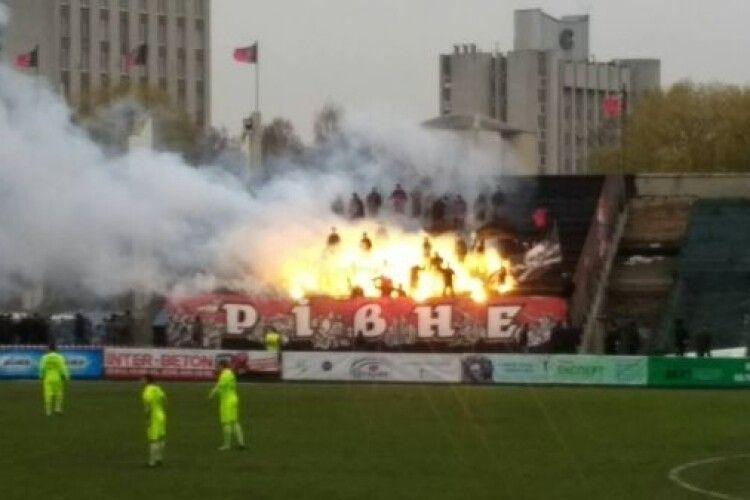 Рівненський «Верес» заплатить за пошкоджені стільці в Тернополі