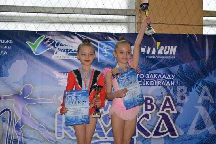 У Луцьку відбувся чемпіонат з художньої гімнастики (Фото)