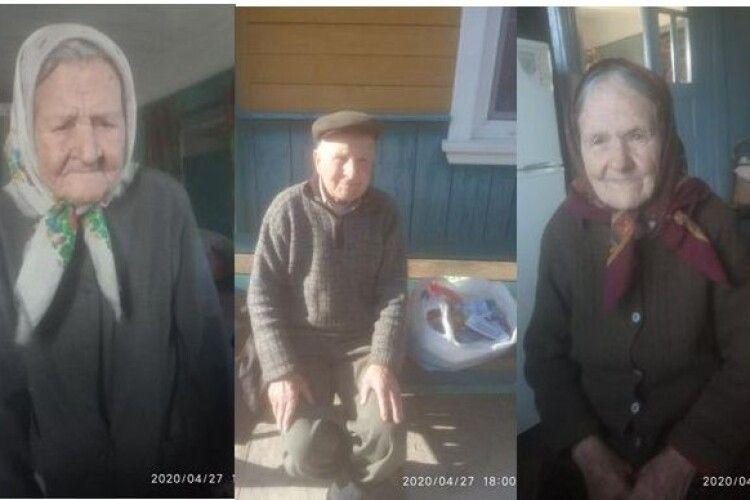 14 продуктових наборів для одиноких людей поважного віку одержала вчора Сошичненська ОТГ