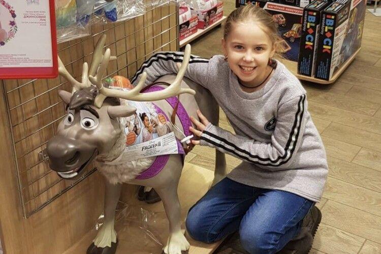 У десятирічної дівчинки з Волині виявили рак: дитині потрібна допомога на лікування