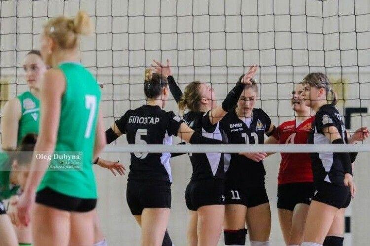 Вінницькі волейболістки повертаються в Суперлігу