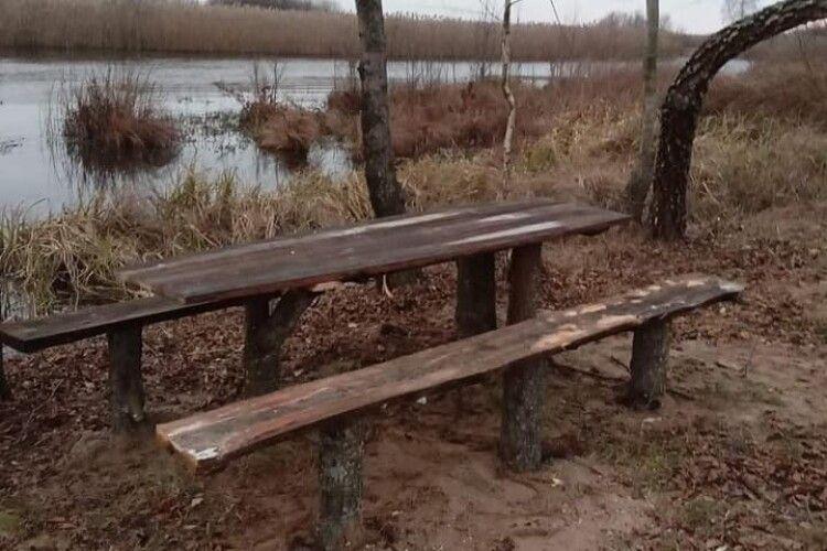 Природоохоронці прибрали берег річки Прип'ять в урочищі Скочище (Фото)