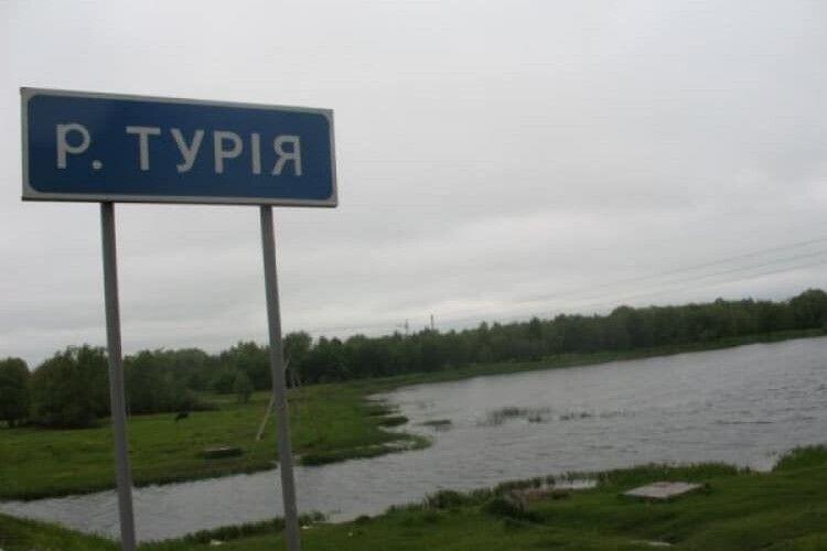 Рівень води в Турії в районі Ковеля знизився