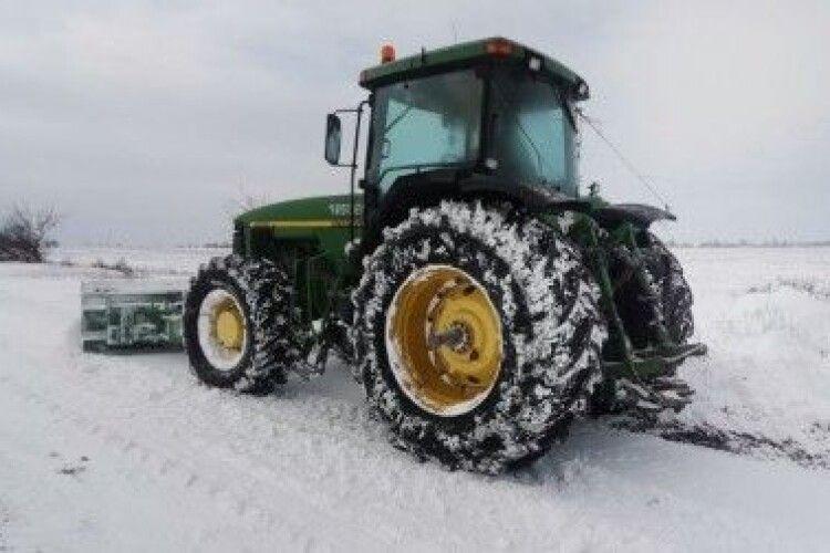 На Волині хочуть не заплатити фірмі за розчищення доріг від снігу