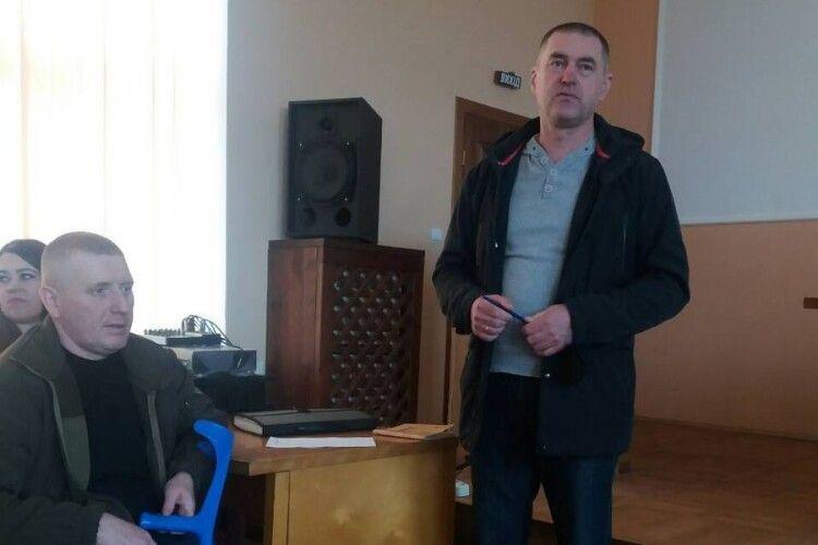 У Турійську атовці обговорили, як зробити свою спілку дієвою