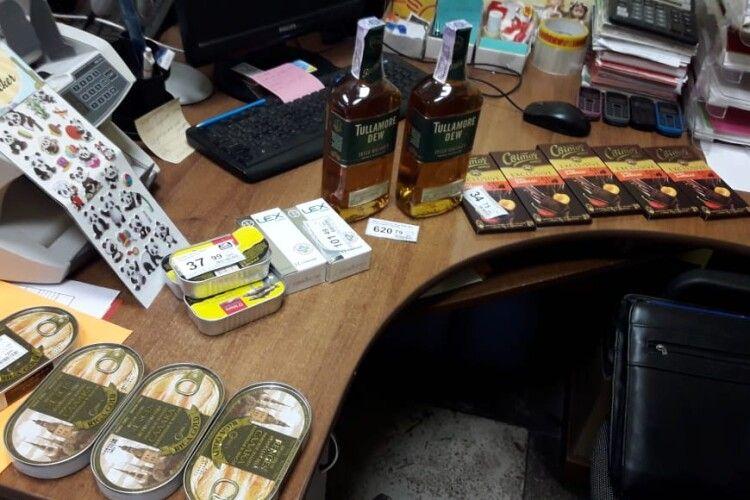 У Турійському районі пограбували «Єко-маркет»