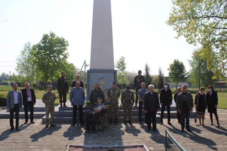 У Шацьку вшанували пам'ять жертв Другої світової війни