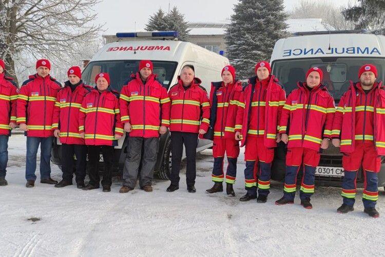 На Горохівщині відкрили пункт постійного базування бригади екстреної медичної допомоги