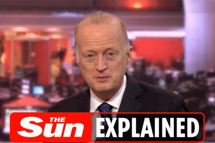 Ведучий BBC вів прямий ефір в сорочці з краваткою, піджаку... та шортах (Відео)