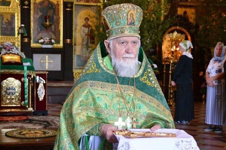 Помер настоятель кафедрального собору УПЦ (МП) Володимира-Волинського