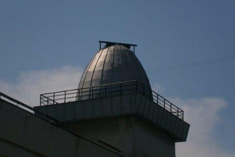 У Луцьку розпочали ремонт обсерваторії Палацу учнівської молоді