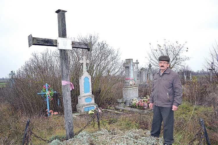 Єдина наВолині братська могила воїнів УНР збереглася вселі Мильськ Рожищенського району