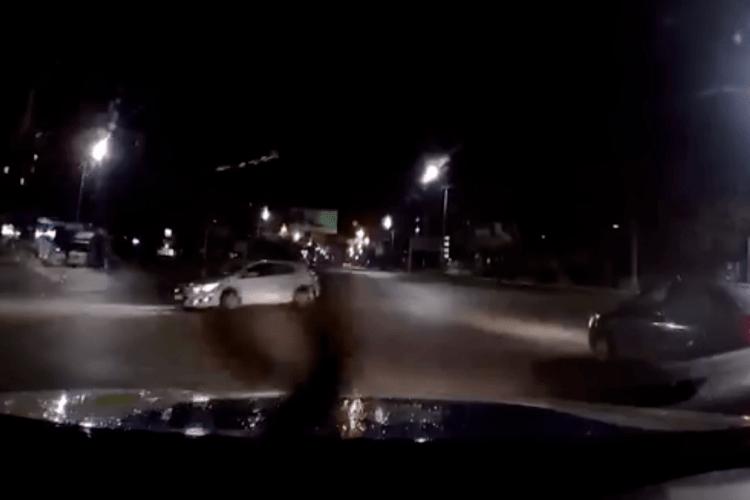 У Луцьку засікли п'яного водія з наркотиками (Відео)